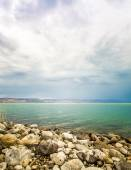The Sea of Galilee landscape — Stock Photo
