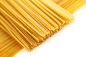 Pasta posted on the a row  — Stock Photo