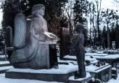 Lychakivske cemetery — Stock Photo