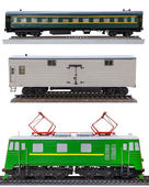 Images of rail transport — Stock Photo