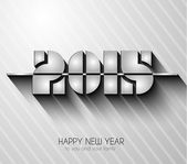 Original 2015 happy new year modern background — Stock Vector