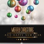 Christmas original modern background template — Stock Vector #55528727