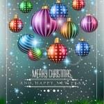 Christmas original modern background — Stock Vector #55980583