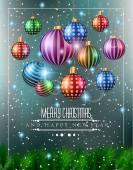 Christmas original modern background — Vetor de Stock