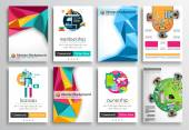 Set of Flyer Design, Web Templates — Stockvektor