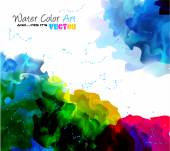 Watercolor Background for poster — Stockvektor