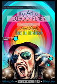Disco Night Club Flyer — Wektor stockowy