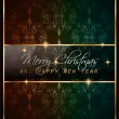 2016 New Year and Merry Christmas background — Stock Vector #74505509