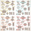 Big Collection of Quality Labels — Stock Vector #77631038