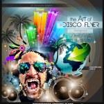 Club Disco Flyer Set with DJ — Stock Vector #79408090