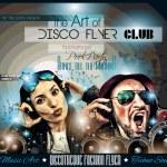 Club Disco Flyer Set — Stock Vector #80429516