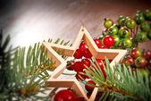 Vánoční hvězda — Stock fotografie