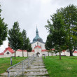 Church of St. John of Nepomuk at Zelena hora — Stock Photo #55163501