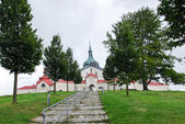 Church of St. John of Nepomuk at Zelena hora — Stockfoto