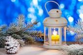 Christmas Lantern — Stock Photo