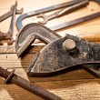 Old tools — Stock Photo #56067045