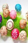 Huevos de pascua — Foto de Stock
