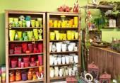 Wnętrze sklepu Kwiaciarnia — Zdjęcie stockowe