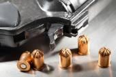 Detail of revolver — Stock Photo