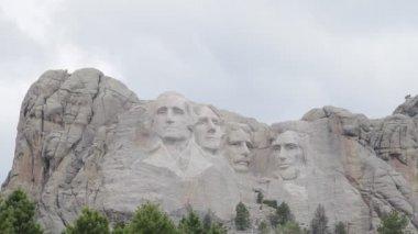 Mount Rushmore Monument, South Dakota, USA — Stock Video