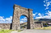 Entrance to Yellowstone National Park — Stock Photo