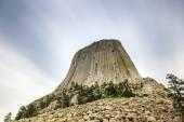 The Devils Tower National Monument — Foto de Stock