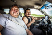 PINE RIDGE INDIAN RESERVATION, SD, USA - JULY 1, 2014:  Two of O — Stock Photo