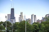 Chicago skyline, Illinois, USA — Stok fotoğraf