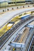 Technology in transportation — Stock Photo