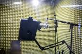 Small professional recording studio — Stock Photo