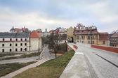 Historic city center of Lublin, Poland — Stock Photo