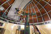 Astronomy telescope in an astronomical observatory — Stock Photo