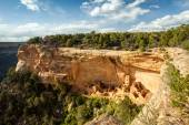 Cliff dwellings in Mesa Verde National Parks, USA — Stock Photo