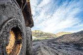 Huge machines used to coal excavation — Stock Photo