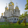 Cathedral of Nativity of Mary in Conception convent in Moscow vi — Stock Photo #55559683