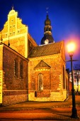 Cathedral in Riga — Stock Photo