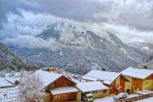 French alpine village — Stock Photo