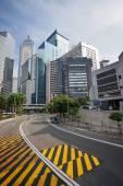 Vue de rue capitale Central Hong Kong — Photo