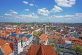 Munich city center panoramic view with spires — Stock Photo