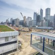 Construction site in central Hong Kong — Stock Photo #68879387