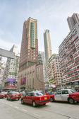 Heavy traffic in Hong Kong — Stock Photo