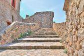 Stones, the historic building near Matera in Italy UNESCO European Capital of Culture 2019 — Stock Photo