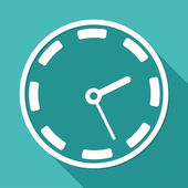 Clock, time icon — Stock Vector