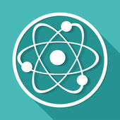Molecule, science Icon — Stock Vector