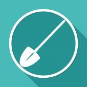 Icon Garden tool, shovel — Stock Vector