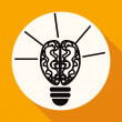Light bulb icon — Stock Vector #76154811