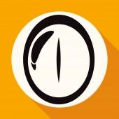 Iconof  eye, vision — ストックベクタ