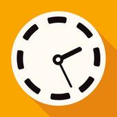Clock, time icon — Stock Vector
