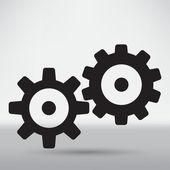 Technical, mechanical symbol — Stock Vector