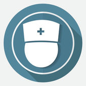 Medicina, enfermería, médico icono — Vector de stock